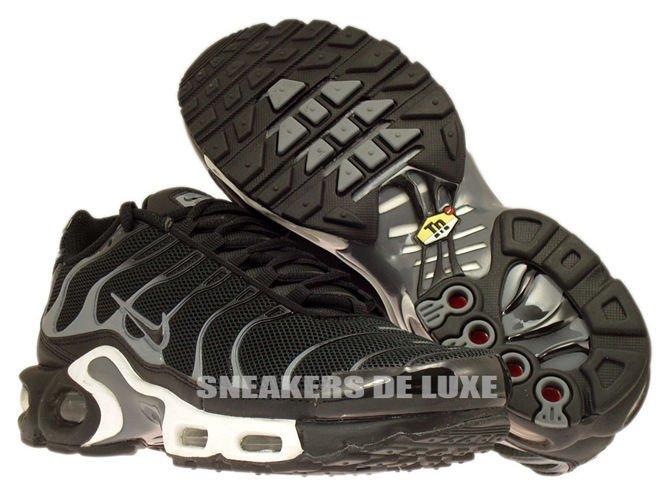 promo code 94b84 74b25 647315-002 Nike Air Max Plus TN 1 Black / Black-Cool Grey