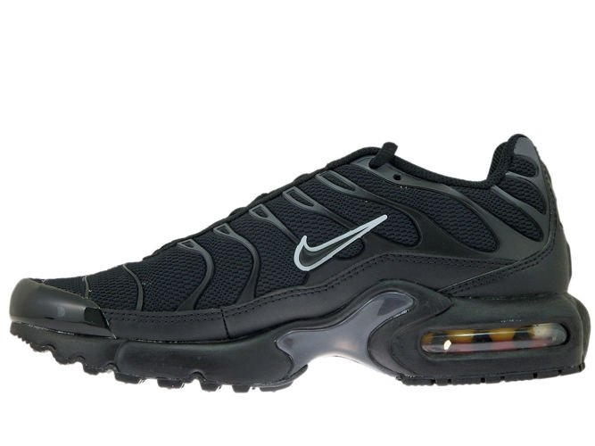 1e97c9f111 ... 655020-053 Nike Air Max Plus TN 1 Black/Black-Pure Platinum ...