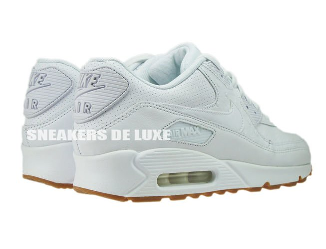 new product 7bd9b db524 ... 705012-111 Nike Air Max 90 Leather PA White White-Gum Light Brown