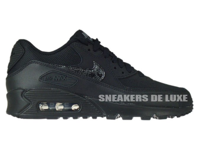 724824 001 Nike Air Max 90 Black Black Cool Grey 724824