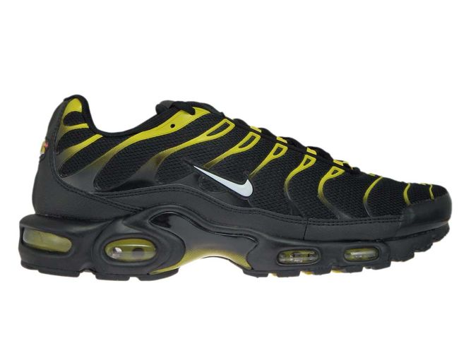ef398eece7 sneakers: 852630-020 Nike Air Max Plus TN 1 Black/White-Vivid Sulfur ...