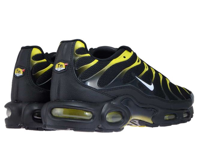 newest collection 69611 fb322 ... 852630-020 Nike Air Max Plus TN 1 BlackWhite-Vivid Sulfur