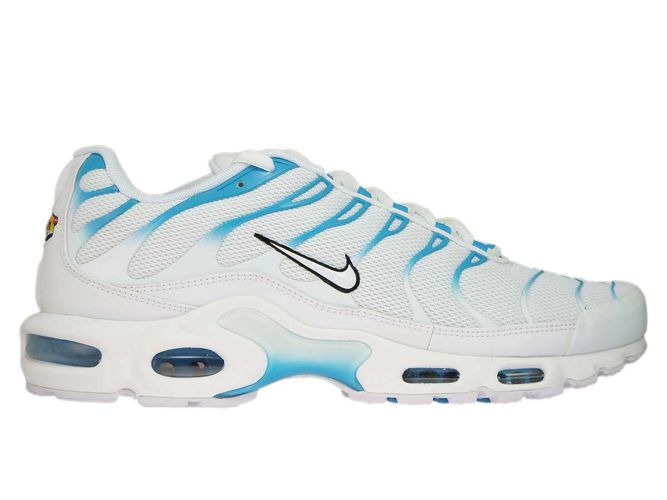 more photos b8d29 f323d 852630-105 Nike Air Max Plus TN 1 White White-Lt Blue Fury ...