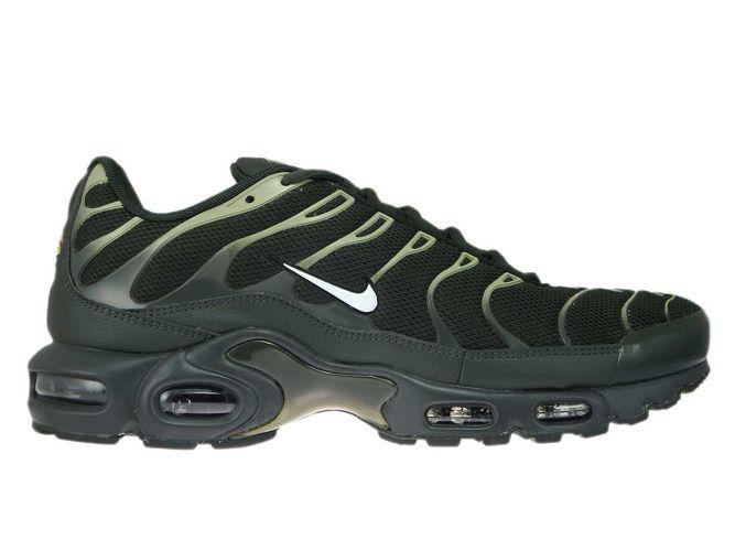 best sneakers 35e97 8b76f 852630-301 Nike Air Max Plus TN 1 Sequoia/White-Neutral ...