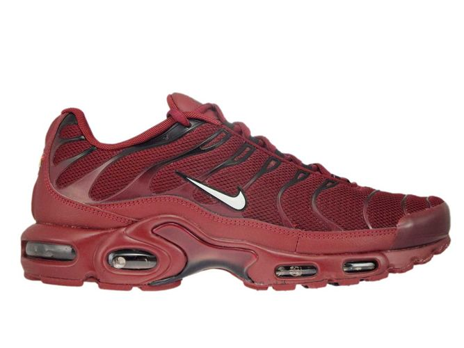 best loved ea7d3 584fb 852630-602 Nike Air Max Plus TN 1 Team Red White-Black ...