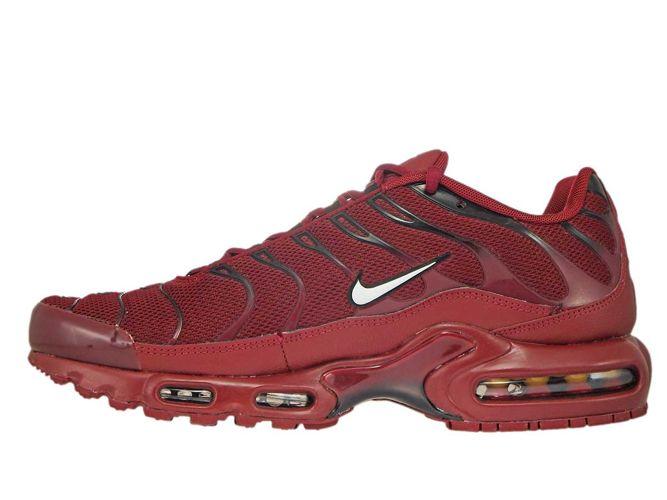6d337a82ec sneakers: 852630-602 Nike Air Max Plus TN 1 Team Red/White-Black ...