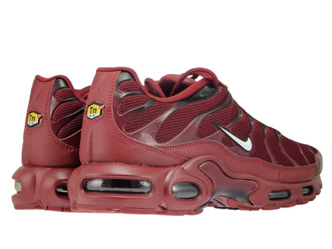 the latest b234a 911e6 852630-602 Nike Air Max Plus TN 1 Team Red/White-Black