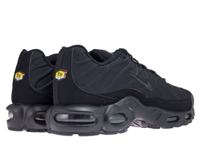 brand new 3f427 3864c sneakers: 918240-002 Nike Air Max Plus TN SE Black/Black-Black ...