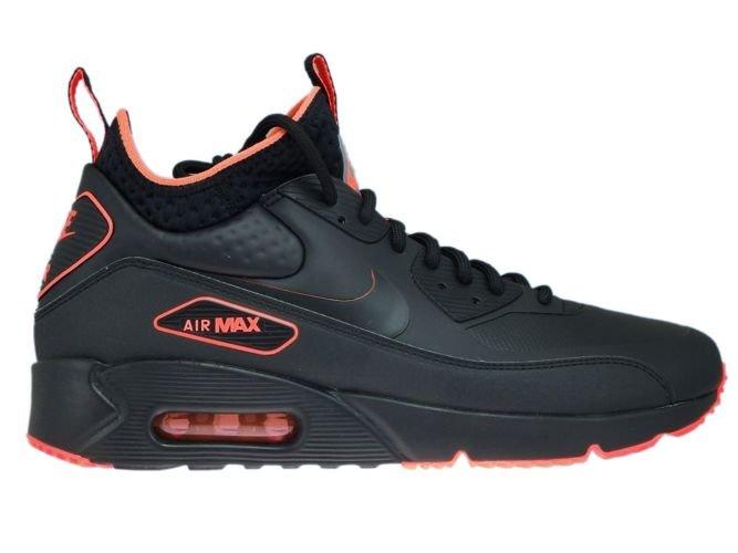 meet 97565 dfd8f AA4423-001 Nike Air Max 90 Mid Winter BlackBlack-Total Crimson ...