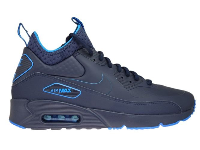 buy popular 3dd2e 144e9 AA4423-400 Nike Air Max 90 Mid Winter Obsidian-Obsidian-Thunder Blue ...
