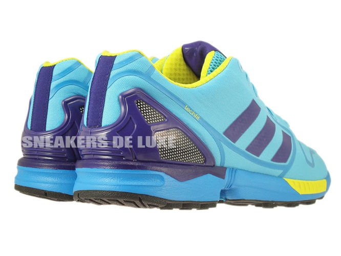 80037355a ... AF6303 adidas ZX Flux bright cyan   collegiate purple   bright yellow  ...