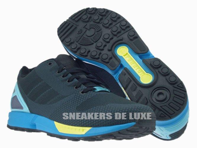 Light Aqua Accents the adidas Originals ZX Flux Weave