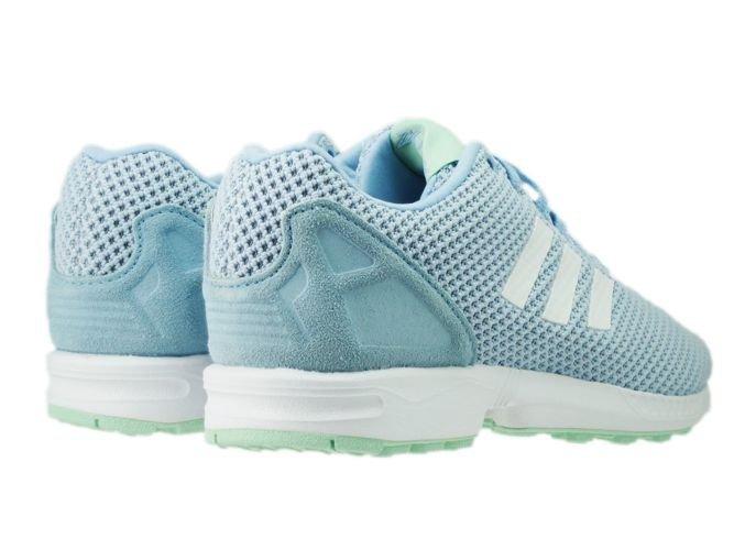 hot sale online 883f0 d4fda ... AQ3068 adidas ZX Flux clear sky  ftwr white  frozen green