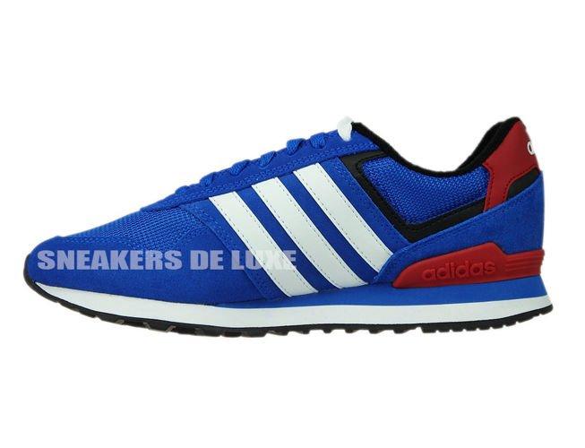 Inglese: aw4685 adidas neo 10k blu / bianco / nero aw4685 nucleo ftwr