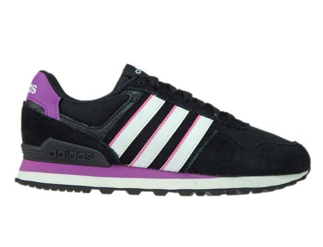 various colors ebc97 99cdc AW4932 adidas neo 10K W Core Black WhiteShock Purple ...