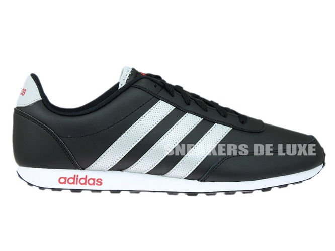 top brands good look for AW5055 adidas neo V Racer Core Black/Metallic Silver/Power ...