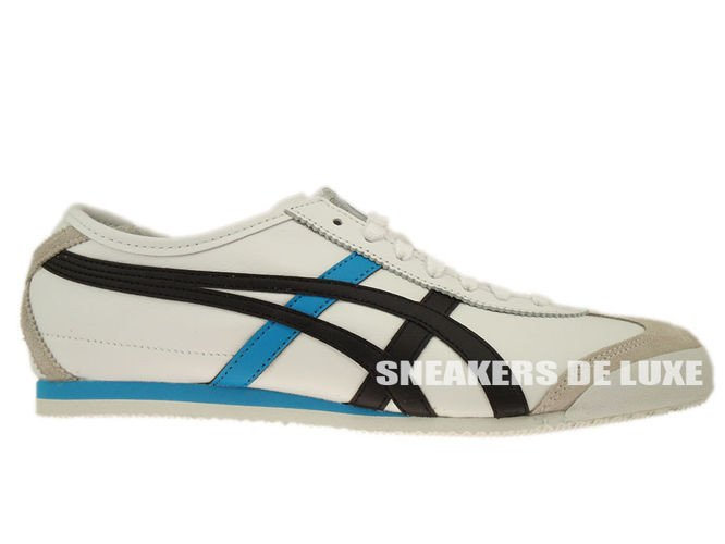 best service f4316 ff561 Asics Onitsuka Tiger Mexico 66 H27C2-0152 White/Black/Blue