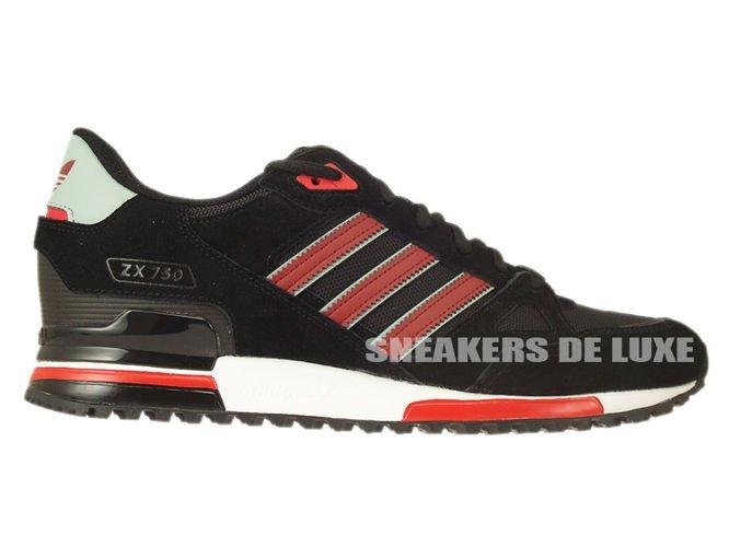 872cbe460b19a B24856 adidas ZX 750 core black   rust red f15-st   mist slate f15 ...