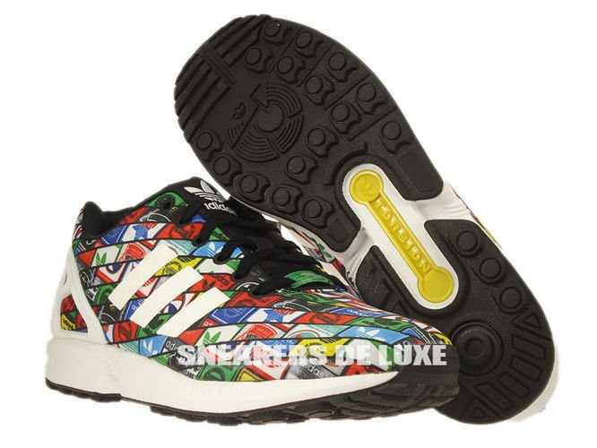 new styles a4053 b33a8 B24904 adidas ZX Flux ftwr white / ftwr white / core black