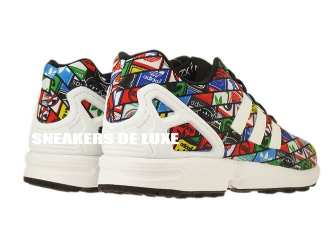 new styles 80ce2 336e2 B24904 adidas ZX Flux ftwr white / ftwr white / core black