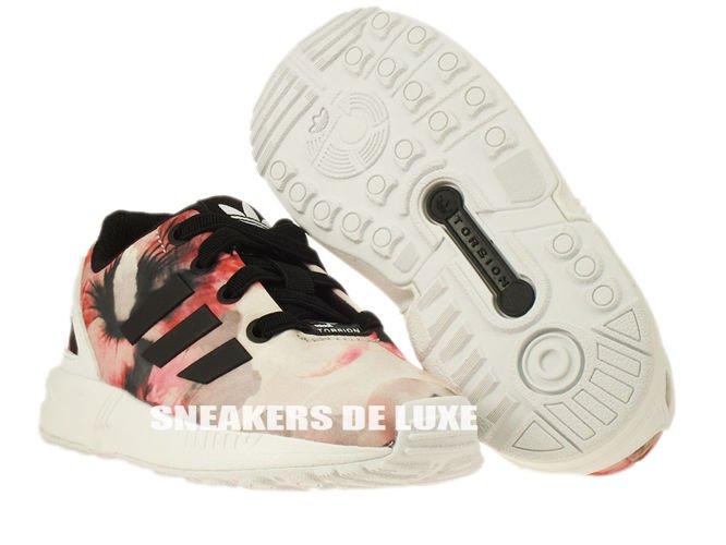 b65f0b59b8ab ... B25650 adidas ZX Flux EL Infants core black   core black   ftwr white  ...