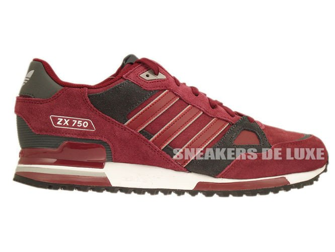 best loved afa38 d6488 B25960 Adidas ZX 750 Collegiate Burgundy Collegiate Burgundy Dgh Solid Grey  ...
