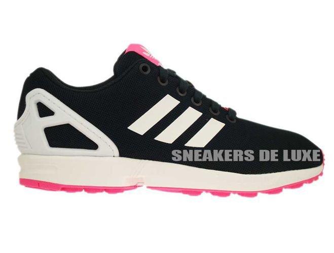 détaillant en ligne acb5b 6606a B34060 adidas ZX Flux Petrol Ink / Ftwr White / Solar Pink