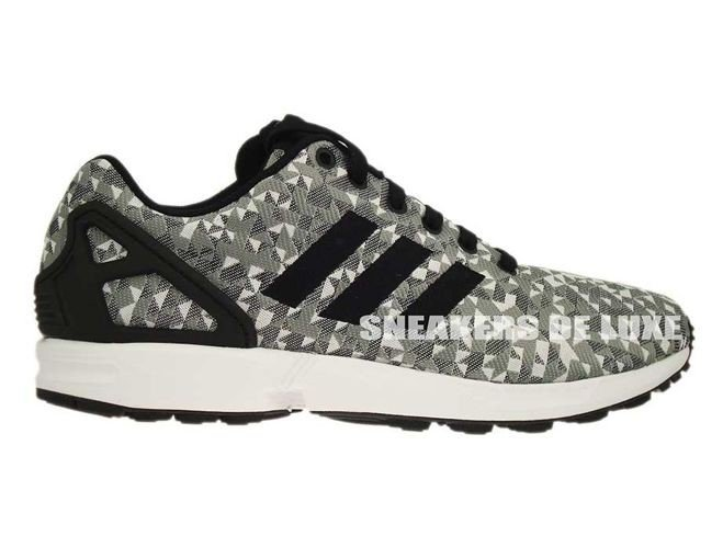 a30a7d65e0129 English  B34472 adidas ZX Flux Weave White Core Black Solid Grey ...