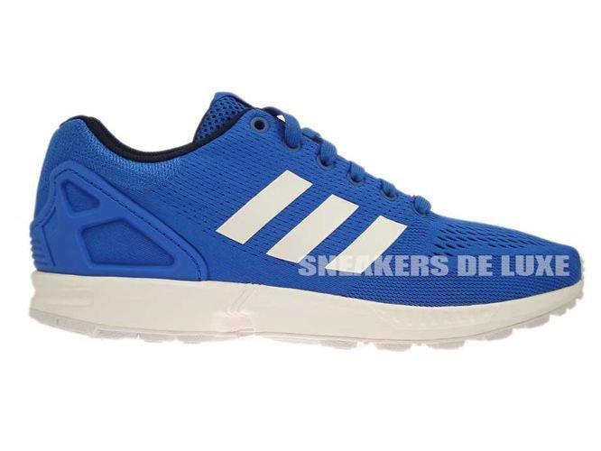 wholesale dealer 17a22 acf8d B34511 adidas ZX Flux Blue  Ftwr White  Core Black ...