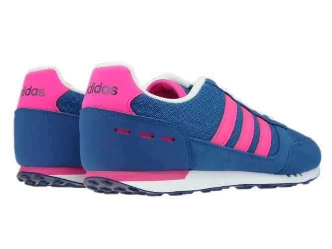 newest 4ea58 0b2c7 ... B74492 adidas City Racer W Core BlueShock PinkMystery Blue