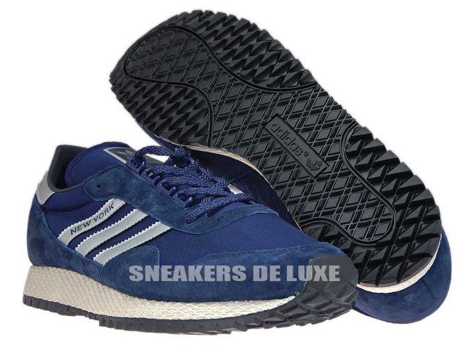 985a867dd052a5 English  BB1188 adidas New York Dark Blue Matte Silver Collegiate ...