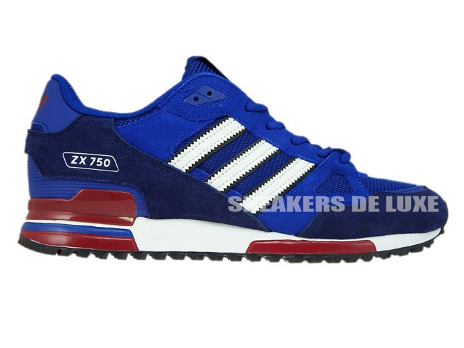 English  BB1220 adidas ZX 750 Collegiate Royal Footwear White Dark ... c57e2275bb