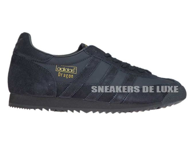 BB1265 adidas Dragon OG Core BlackCore BlackGold Metallic
