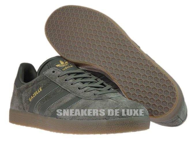 9567859afa182 English  BB2754 adidas Gazelle Utility Grey   Utility Grey   Gum ...