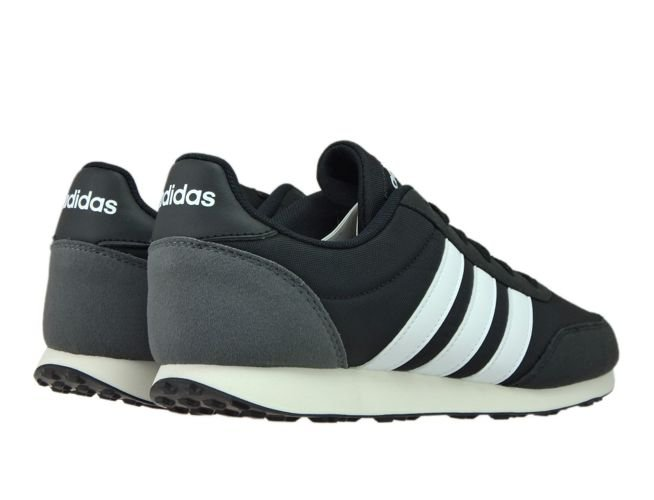 42ca875a9 English  BC0106 adidas V Racer 2.0 NEO Core Black Solar Red Ftwr ...