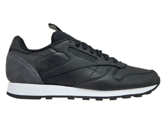 nowy przyjazd wysoka moda dobra obsługa BS6210 Reebok Classic Leather Iconing Taping Black/Coal ...