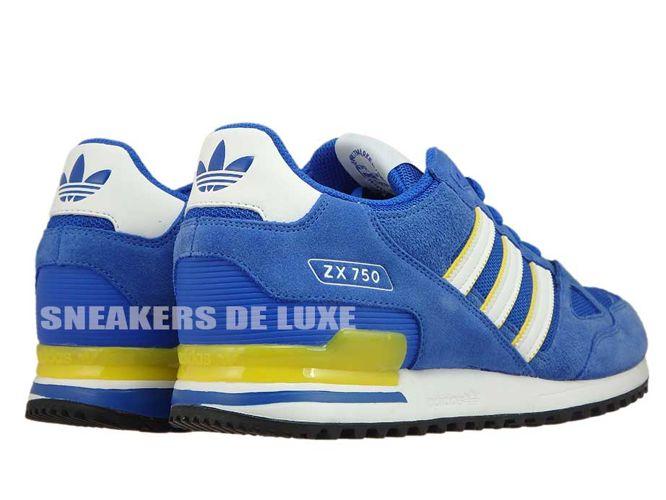 los angeles 7381e 82f16 ... BY9272 adidas ZX 750 Blue Ftwwht Eqtyel