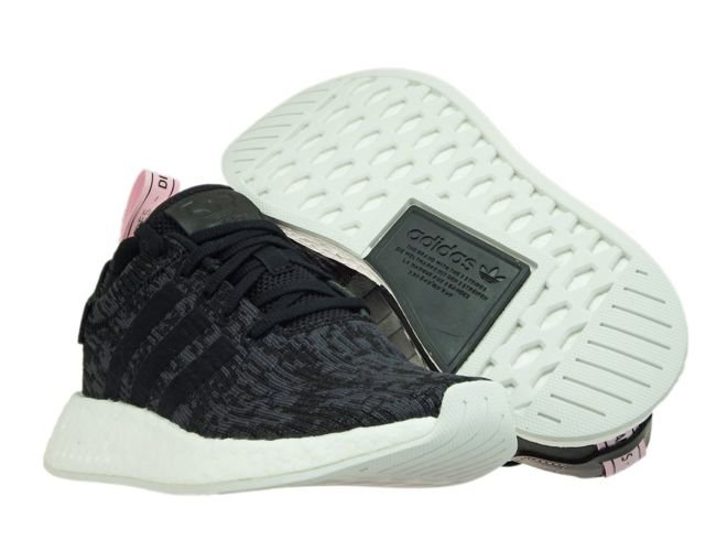 BY9314 adidas NMD R2 W Core BlackCore BlackWonder Pink