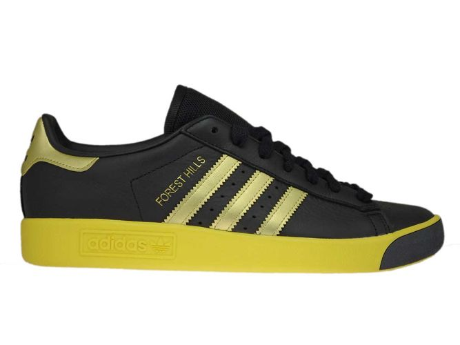 low priced 33dc8 a4e48 CQ2084 adidas Forest Hills Core BlackGold MetEQT Yellow ...
