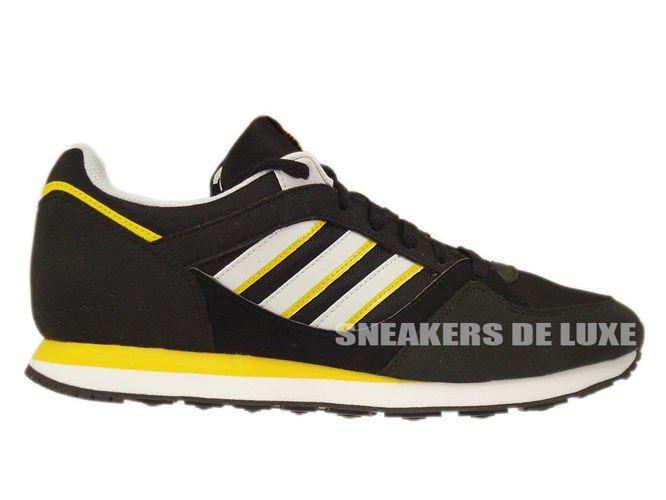 6169b2166e25f D67735 adidas Originals ZX 100 Black   Clear Grey   Sunshine ...