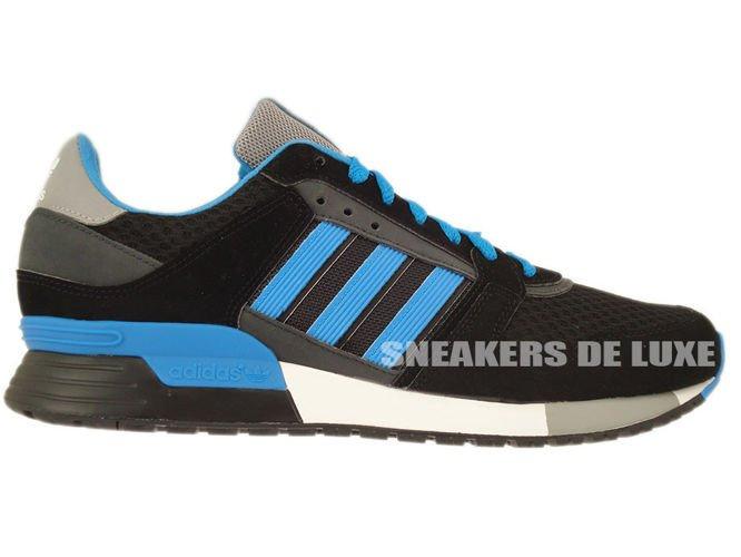 D67743 Adidas ZX 630 BlackSolar BlueCarbon