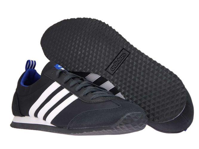 ... DB0462 adidas NEO VS Jog Core Black/Ftwr White/Collegiate Royal ...