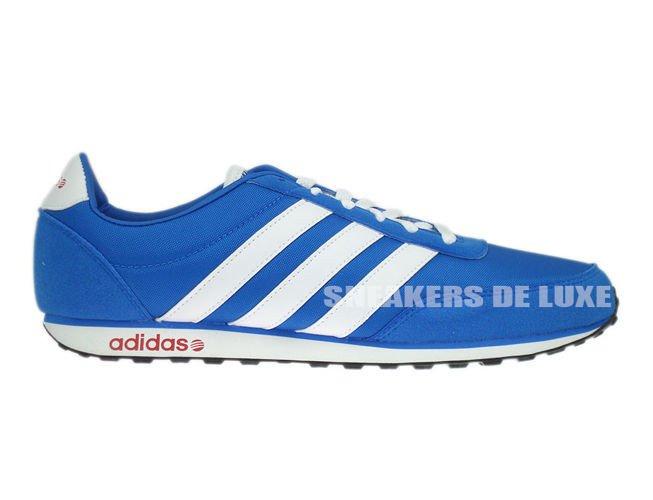 Inglese: f38505 adidas / blu / bianco / pilota di nylon potere rosso f38505