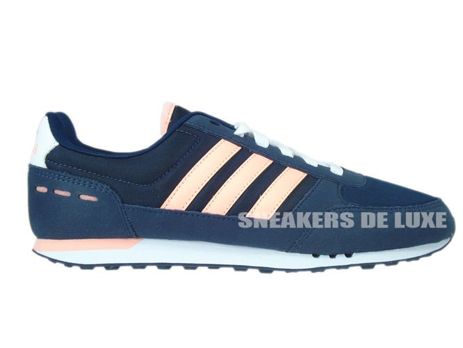 timeless design 38ec7 9ea26 F99367 adidas NEO City Racer W collegiate navy  light flash orange s15   ftwr white ...