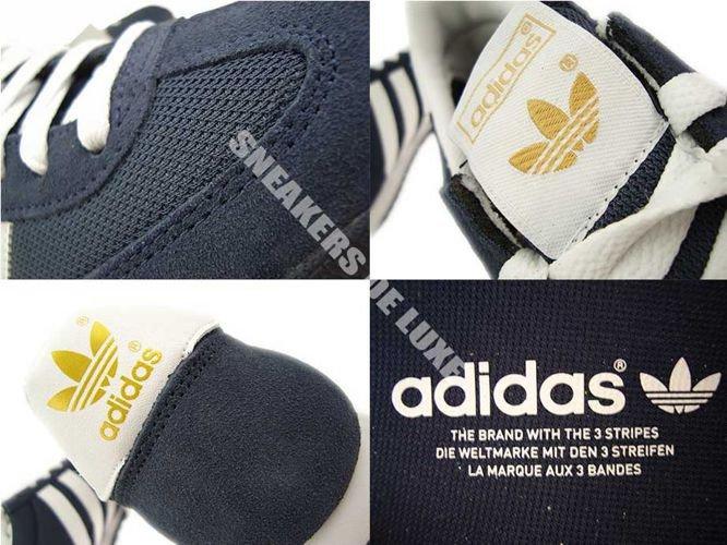 Colibrí A pie Claire  G50919 adidas Dragon Dark Blue / White / Gold Met