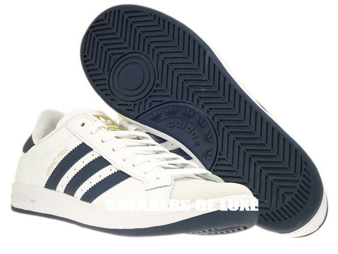 huge selection of df749 b5986 ... G64079 adidas Grand Prix White  New Navy  Metallic Gold ...