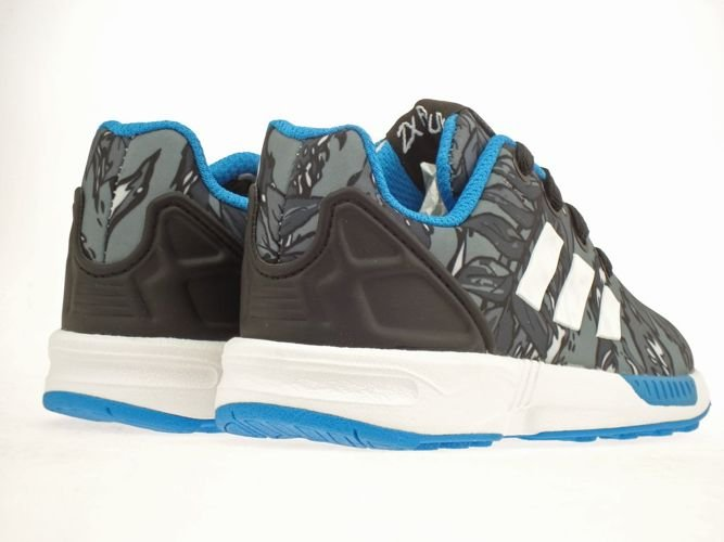 11715089e502e ... M19402 adidas ZX Flux EL Infants Core Black   Running White   Solar  Blue ...