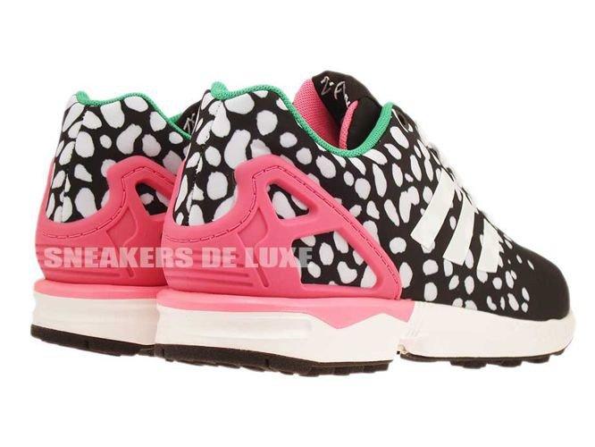 new arrival 09d07 f3c38 ... coupon m19455 adidas zx flux core black ftwr white semi solar pink  566a5 d7565