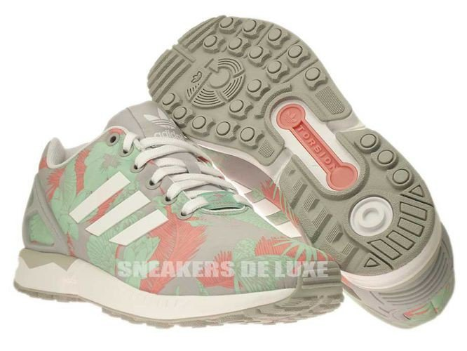 Inglese: Libero M19456 Adidas Zx Flusso Libero Inglese: Onix / Ftwr Bianco / Rosa. 2dbd35