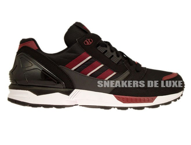 cheap for discount a562c 65af9 M19664 adidas ZX 8000 Core Black  Collegiate Burgundy  Dgh Solid Grey ...